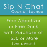 Free Appetizer or Drink with $50 Purchase,  Cocktail Lounge, Caribbean American Restaurant in Brooklyn, NY